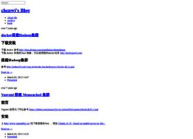 chenwj.logdown.com