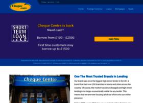chequecentre.co.uk
