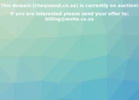 chequeout.co.za