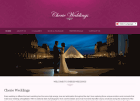cherie-weddings.com