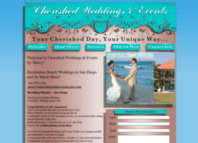 cherishedweddingsandevents.com