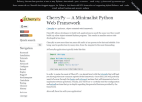 cherrypy.readthedocs.org