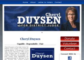 cherylduysenforjudge.com