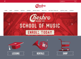 chesbromusicretail.com