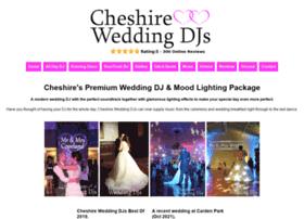 Cheshireweddingdjs.co.uk