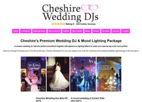 cheshireweddingdjs.co.uk