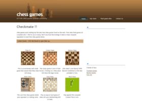 chessgamesite.com