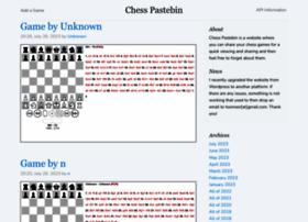 chesspastebin.com