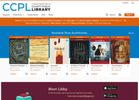 chesterfieldcpl.libraryreserve.com