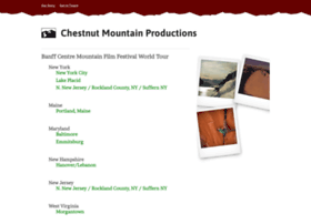 chestnutmtnproductions.com