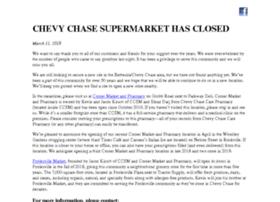 chevychasesupermarket.com