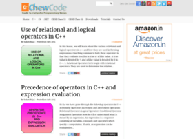chewcode.com