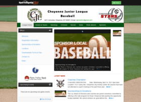 cheyennejuniorleaguebaseball.siplay.com