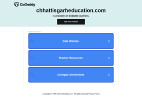 chhattisgarheducation.com