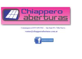 chiapperoaberturas.com.ar