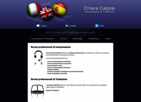 chiaracappai.com