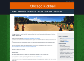 chicagokickball.leagueapps.com