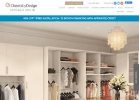 chicagosouth.closetsbydesign.com