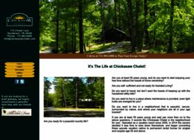 chickasawchalet.com