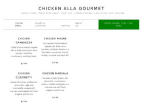 chickenallagourmet.com