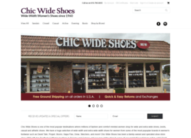 chicwideshoes.com
