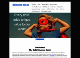 child-behavior-guide.com