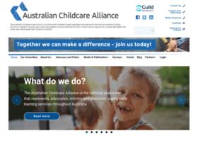 childcarealliance.org.au