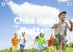 childhoodmatters.org