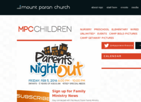 children.mountparan.com