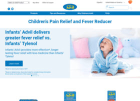 childrens.advil.com