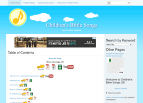 childrensbiblesongs.us