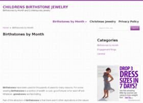 childrensbirthstonejewelry.com