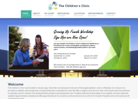 childrensclinicofbillings.com