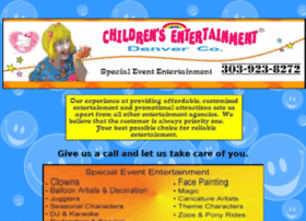 childrensentertainmentden.com