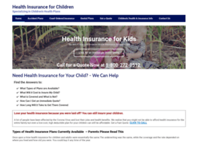 childrenshealthplans.com