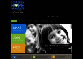 childrenshopefoundation.org.uk