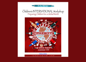 childrensinternationalworkshop.com