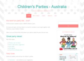childrensparties.com.au