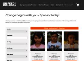 childsponsorship.feedthechildren.org