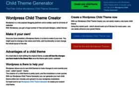 childtheme-generator.com