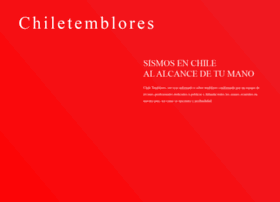 chiletemblores.cl