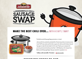 chilisausageswap.johnsonville.com