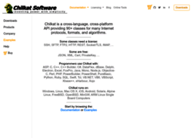 chilkatsoft.com