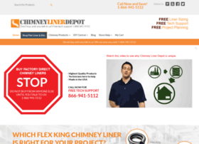 chimneylinerdepot.com