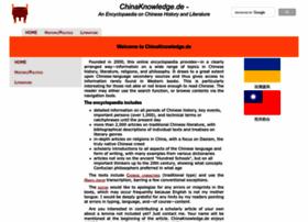 chinaknowledge.de