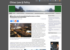 chinalawandpolicy.com