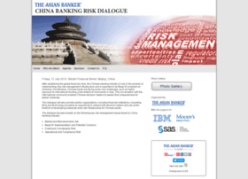 chinariskdialogue2013.asianbankerforums.com