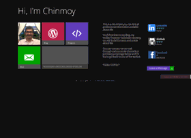 chinmoymohanty.com