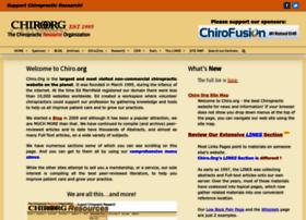 chiro.org
