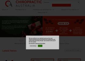 chiropracticaustralia.org.au